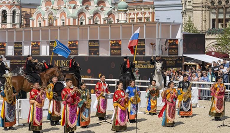 Духовой оркестр Тувы впервые на фестивале «Спасская башня»