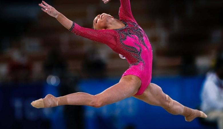 Гимнастка Ангелина Мельникова выиграла олимпийскую бронзу в личном многоборье