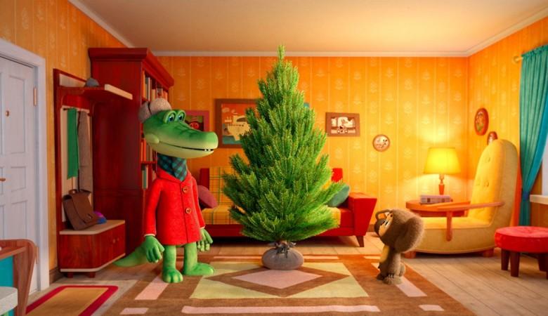Россиянам покажут новогоднюю серию мультфильма о Чебурашке и Крокодиле Гене