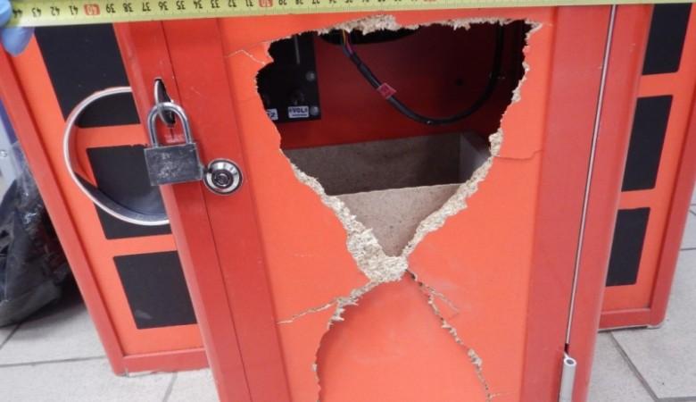 Разозлившийся пьяный томич ограбил автомат с игрушками после поражения