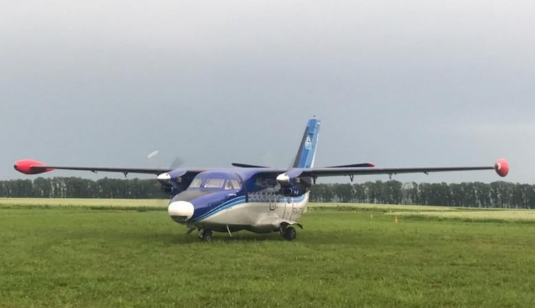 Жители Белокурихи впервые за 30 лет увидели пассажирский самолёт