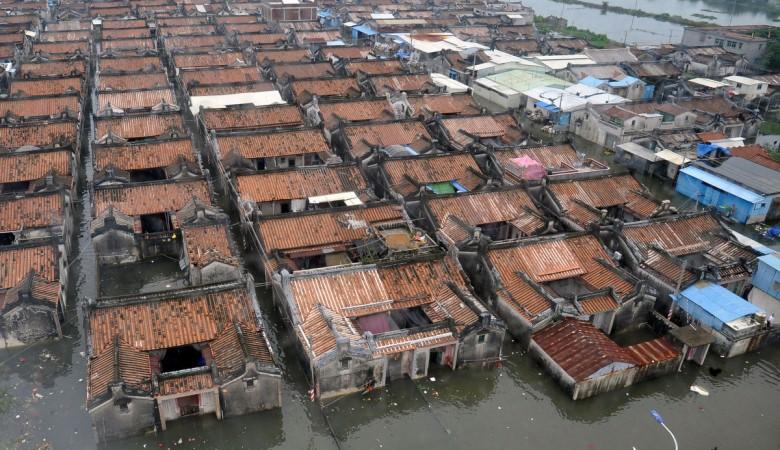 Почти 400 тыс. человек пострадали в результате наводнений в Китае