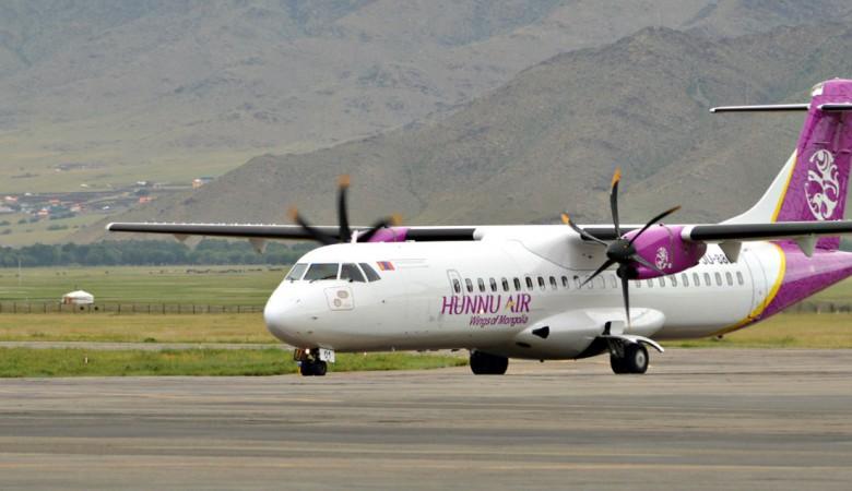 Hunnu Air с июня начнет выполнять рейсы из Монголии в КНР через Бурятию