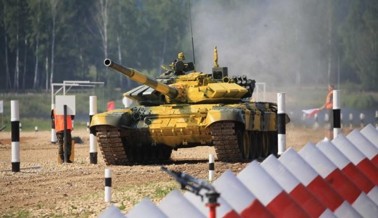Военные России и Монголии на учениях