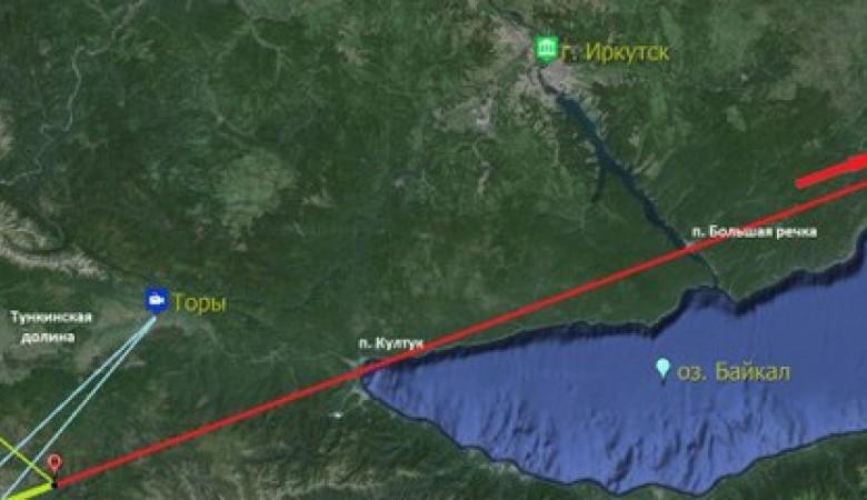 В Иркутской области в Байкал рухнул метеорит