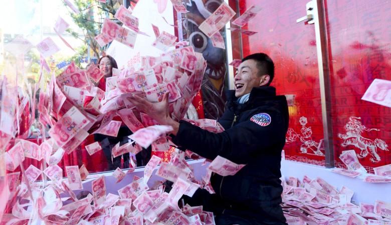 Средний доход на душу населения Китая в 2018 году вырос на 8,7% - до $4,16 тыс