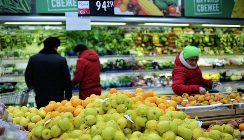 Овощи и фрукты обошлись россиянам в январе на 9% дороже, чем в декабре