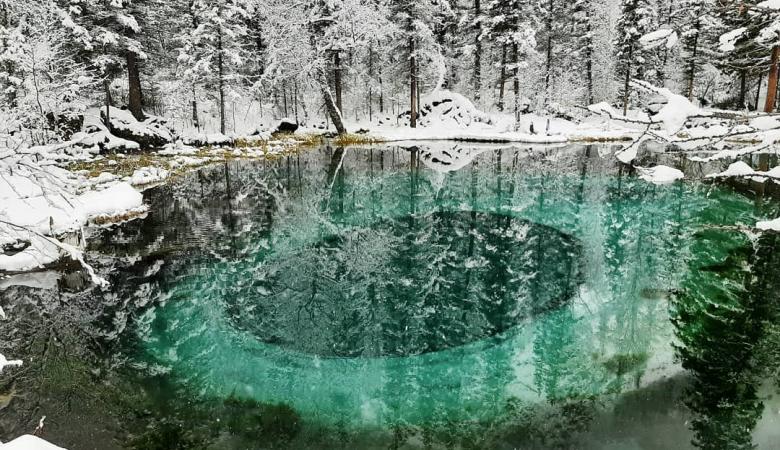 Гейзерное озеро на Алтае получит статус особо охраняемой природной территории