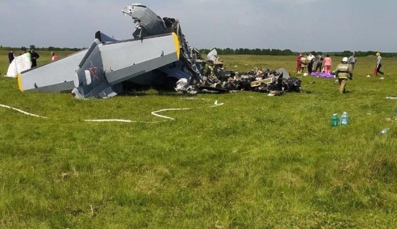 СК возбудил уголовное дело после крушения самолета в Кузбассе