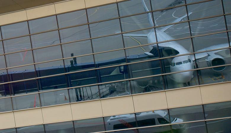 В новом международном аэропорту Пекина