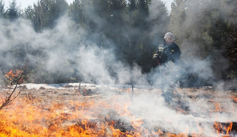 Более 340 тыс. га леса горит в Иркутской области