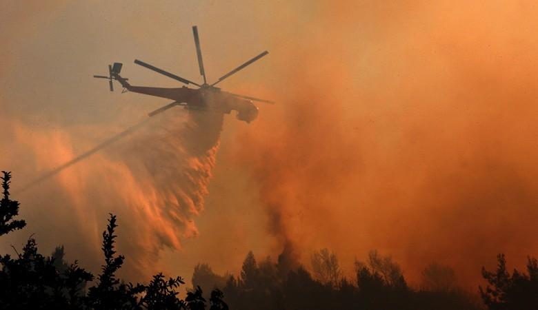 Наурзумский природный заповедник горит в Казахстане
