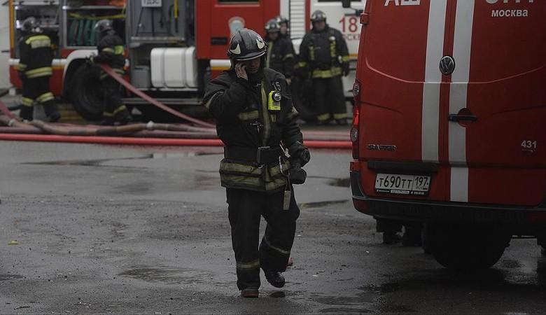 Пожар произошел в общежитии в Омске, эвакуировано 40 человек