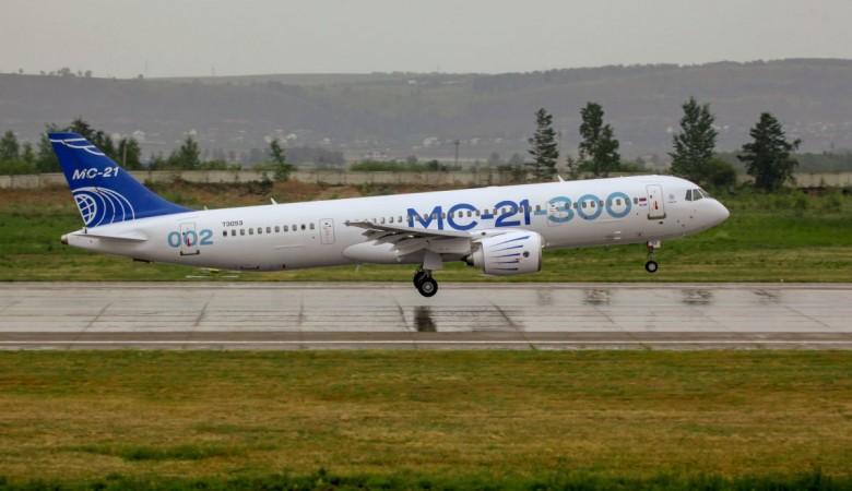 Второй летный экземпляр МС-21 совершил тестовый полет на высоте 9 тыс. метров