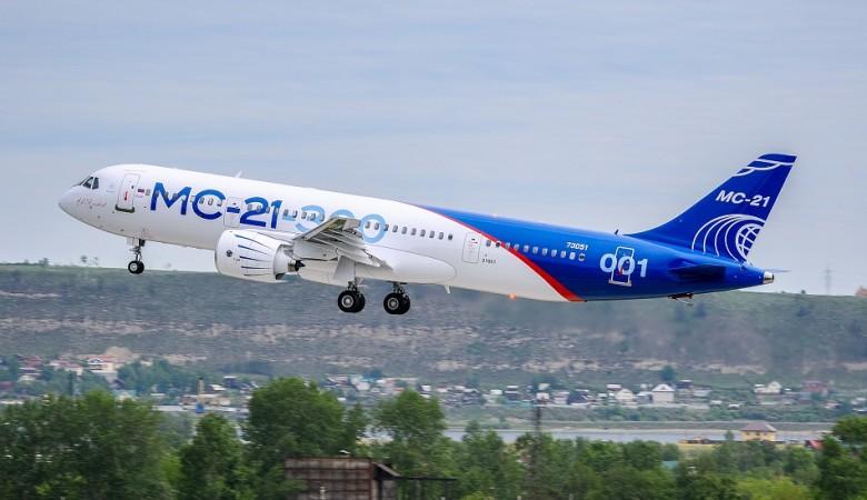 Премьерный показ МС-21-300 с пассажирским интерьером состоится на МАКС-2019 - Мантуров