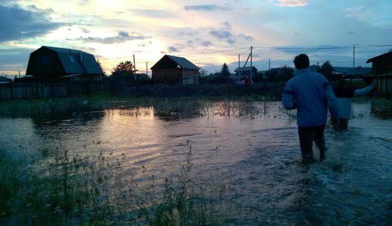 Паводок добрался до Читы: в городе подтоплены дома, без света – 1,2 тыс. человек