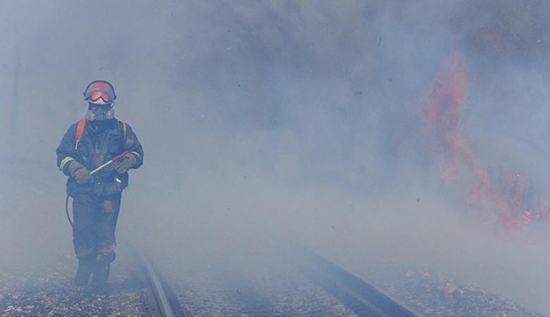 Роспотребназор зафиксировал в Красноярске превышение вредных примесей в воздухе из-за дыма от лесных пожаров