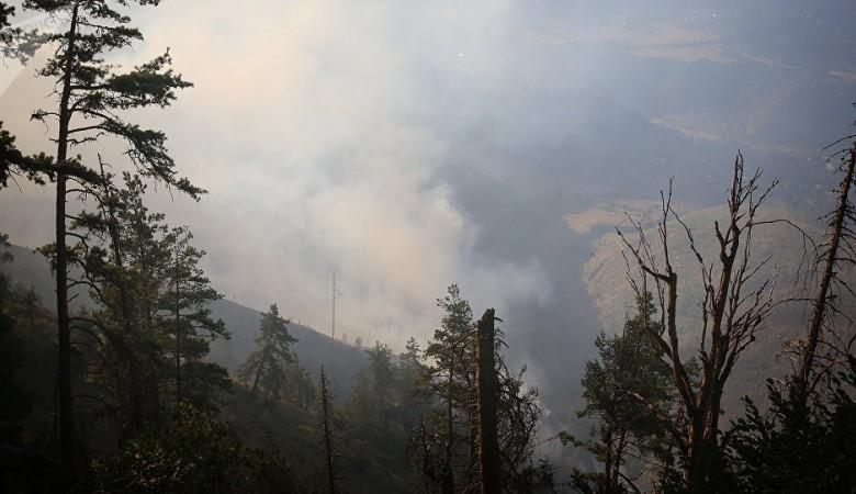 Бурятию затянуло дымом от лесных пожаров из соседних регионов