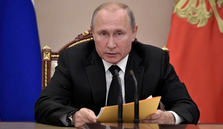 Путин поручил Центризбиркому организовать голосование по поправкам в Конституцию