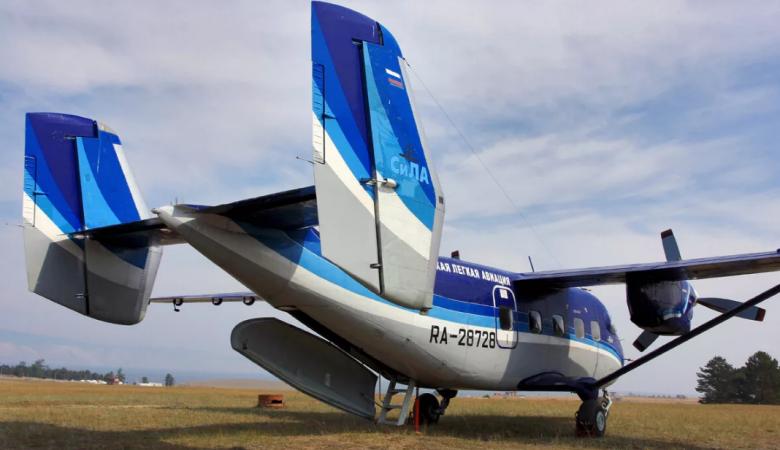Пропавший в Томской области Ан-28 совершил жесткую посадку в Бакчарском районе