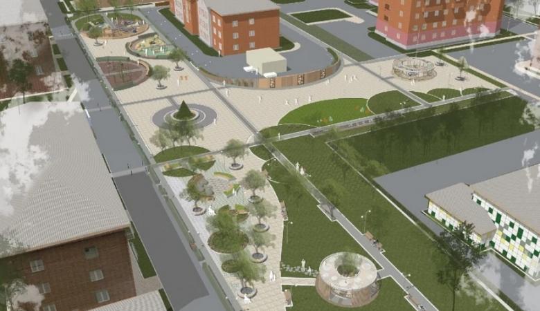 Тактильный сквер для незрячих построят на правобережье Красноярска