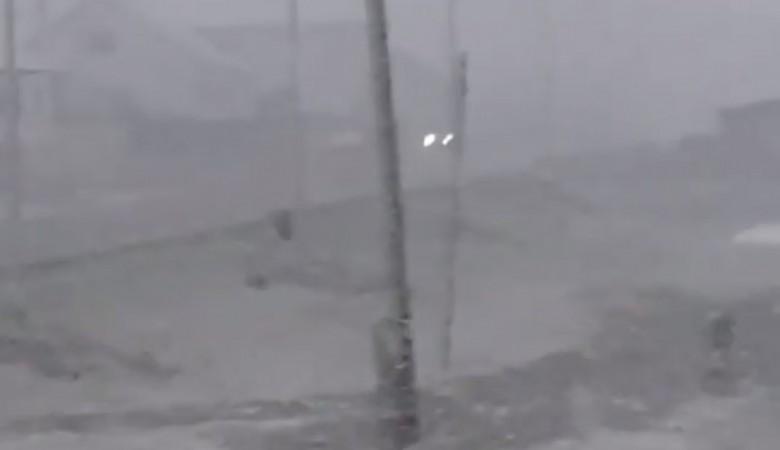 В некоторых районах Алтая выпал первый снег