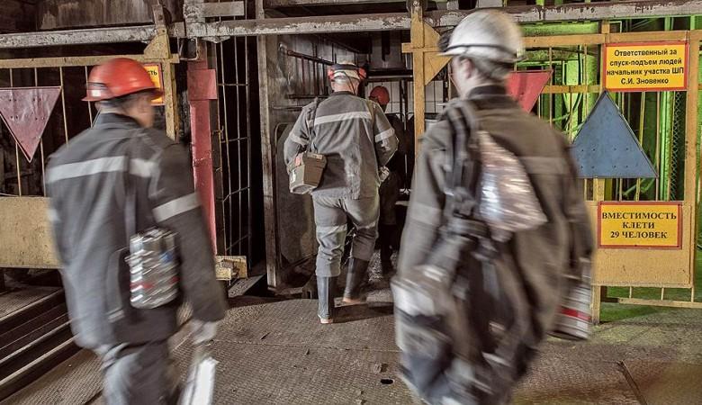 Работа кемеровской шахты