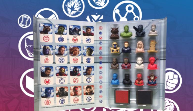 Супергерои MARVEL возвращаются в «Пятёрочку»