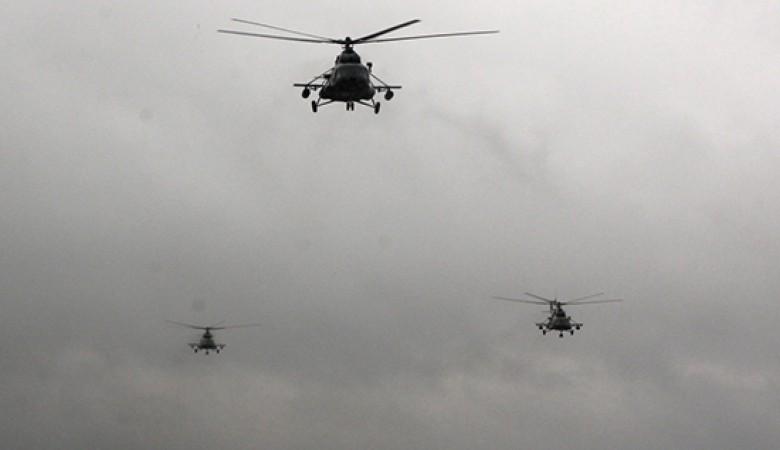Подразделения армейской и транспортной авиации заняли позиции по траектории старта «Союза ТМА-18М»