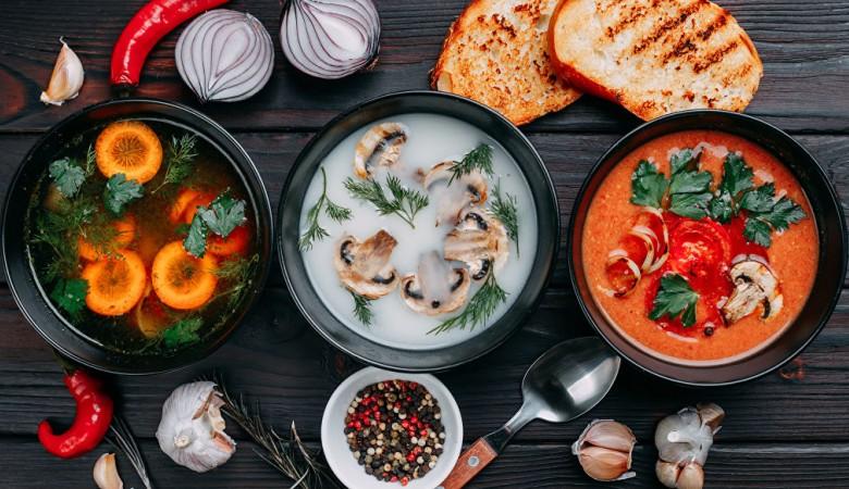 Самый полезный российский суп - овощной, самый вредный – солянка – врачи