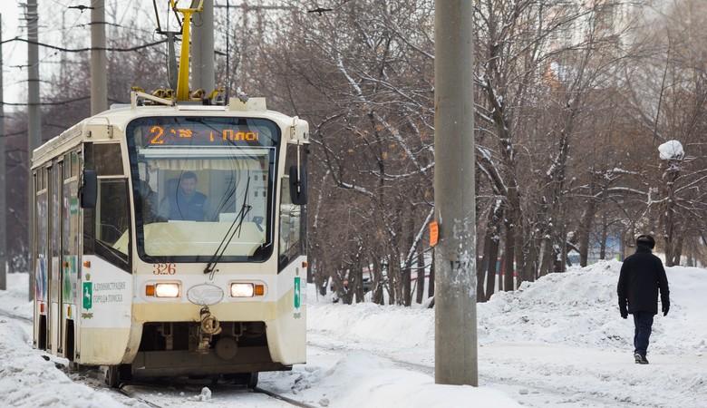 Томичи собирают подписи за сохранность городской трамвайной линии