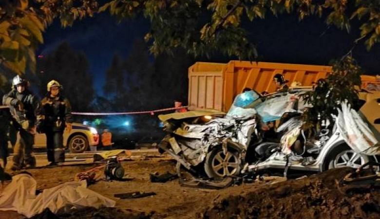 Семья из четырёх человек разбилась в ДТП в Барнауле