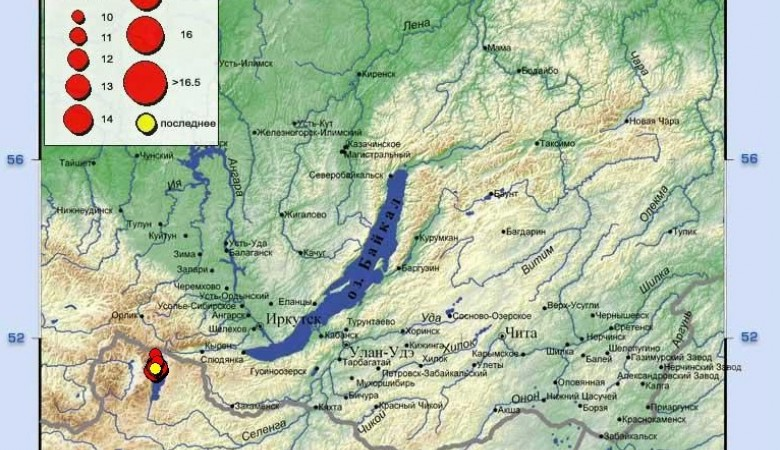 В РФ зарегистрировали более 100 подземных толчков после землетрясения 12 января в Монголии