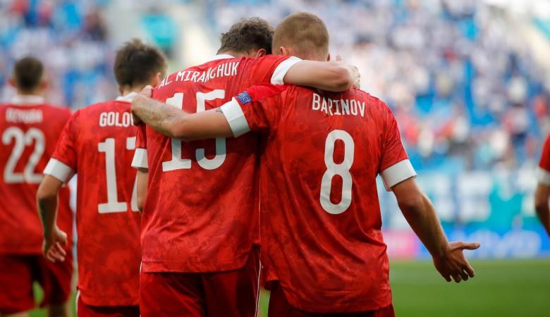 Сборная России вырвала победу у Финляндии во втором матче Евро-2020