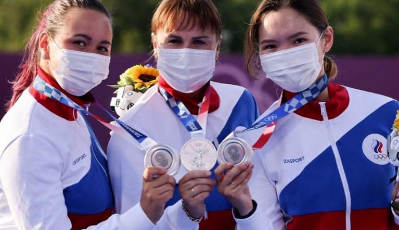 Российские лучницы завоевали серебряную медаль на Олимпиаде в Токио