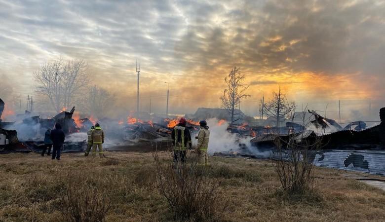 Ученики из сгоревшей школы в Иркутской области будут учиться в соседнем селе