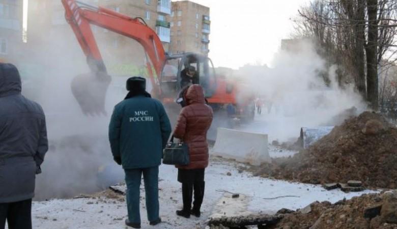 Коммунальная авария в Новосибирске: без тепла остались шесть тысяч жителей