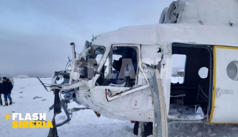 За падение вертолета Ми-8 в Эвенкии ответит командир судна