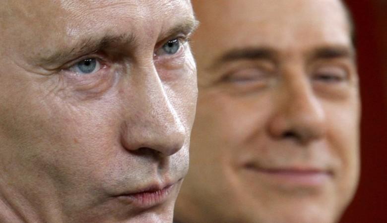 Алтайские артисты устроили танцы для Путина и Берлускони