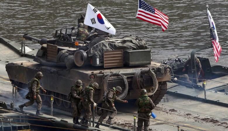 США могут сократить свой военный контингент в Южной Корее