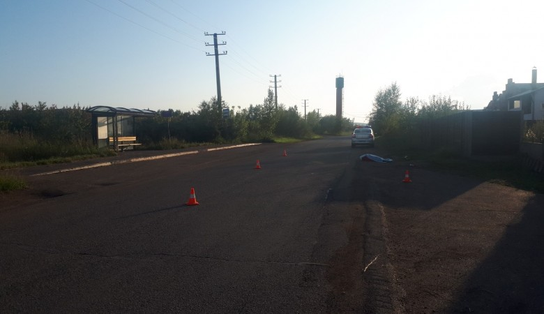 В Красноярске пьяный водитель без прав сбил насмерть 81-летнюю женщину