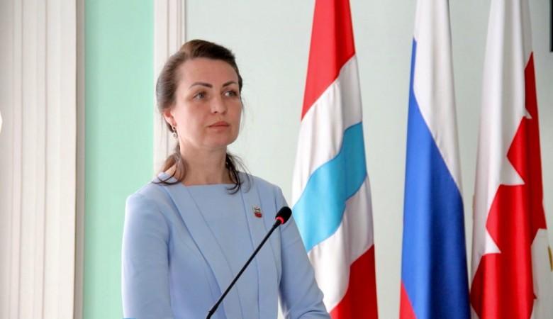 Мэр Омска Фадина переходит на работу в Госдуму