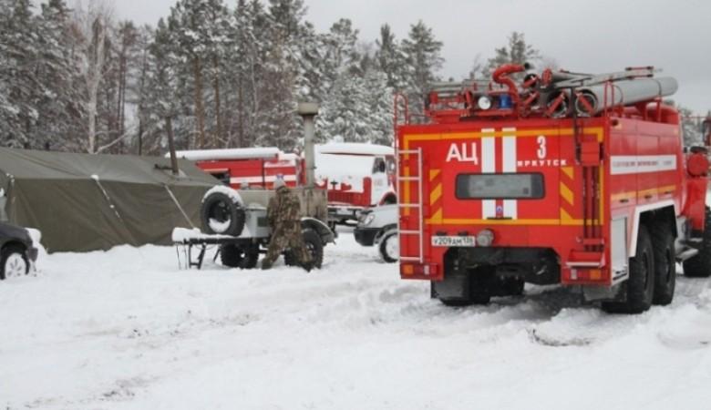 В Иркутской области продолжают гореть торфяники, действует режим ЧС