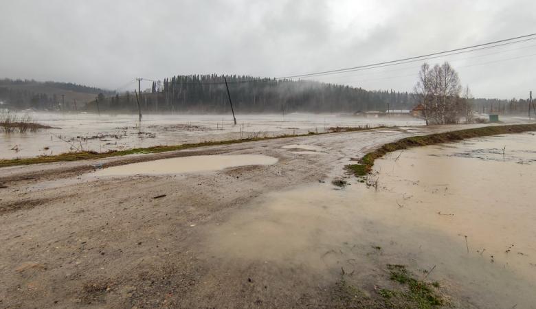 В Республике Алтай подтоплено свыше 70 домов, в Горно-Алтайске действует режим ЧС
