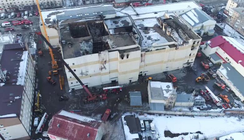 Руководство ТЦ «Зимняя вишня» частично признало вину по делу о страшном пожаре