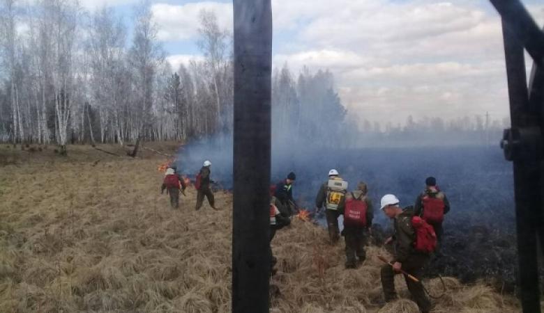 Два пожара на 78 гектаров потушили за сутки в Иркутской области