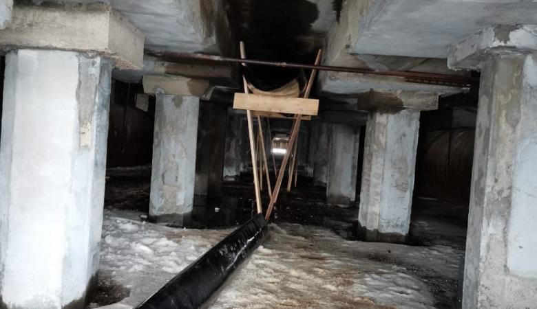 Опубликованы фотографии с места разлива дизтоплива в Дудинке