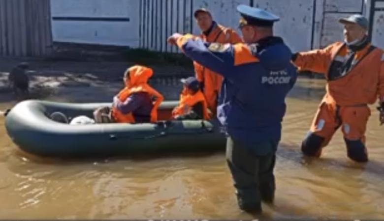В Кызыле около 60 человек эвакуированы из-за паводка в пункт временного размещения