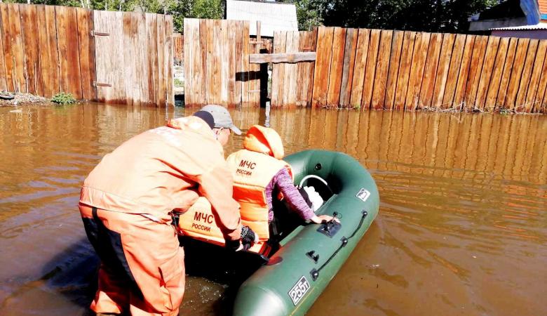 Более 90 человек в Кызыле эвакуированы из-за паводка