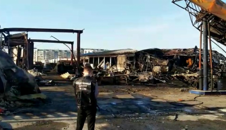В Новосибирске на 2 месяца арестовали директора взорвавшейся АЗС